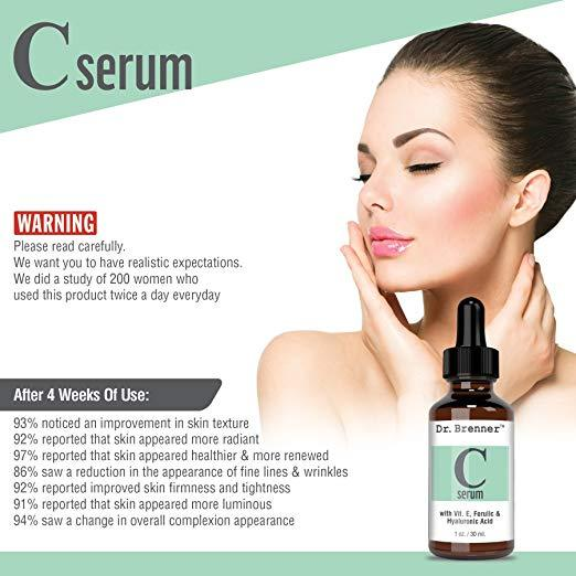 Vitamin C Serum for Face and Eyes