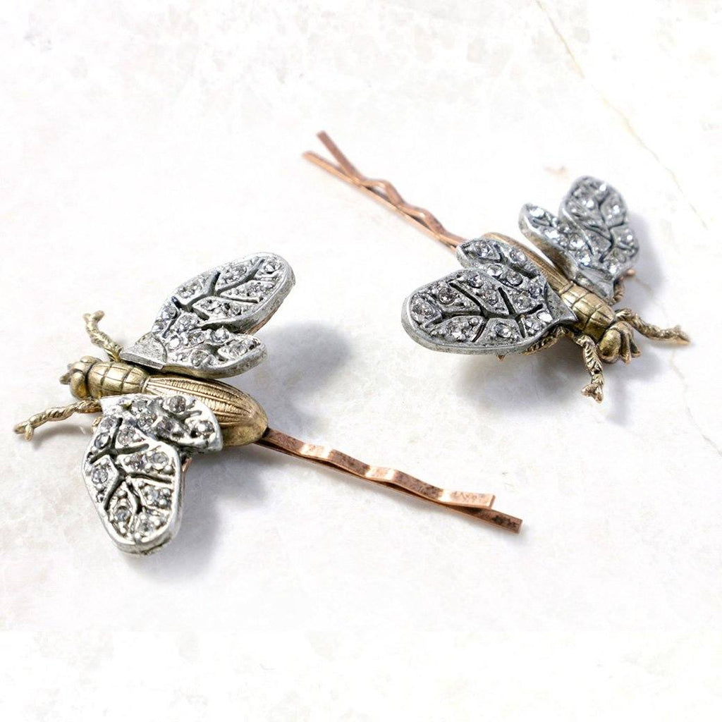 Dragonfly Bobby Pins
