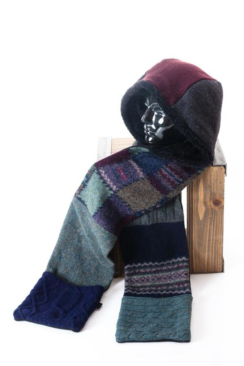 Hoodie Scarf with Pockets