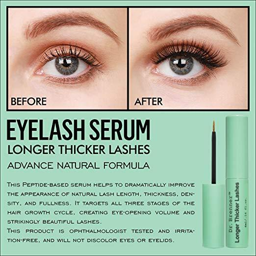 5aa6e6d2c99 Longer Thicker Lashes Serum by drbrennershop.com | AnytownUSA