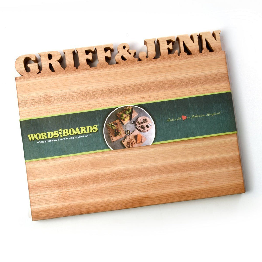 Large Cutting Board with Name(s)