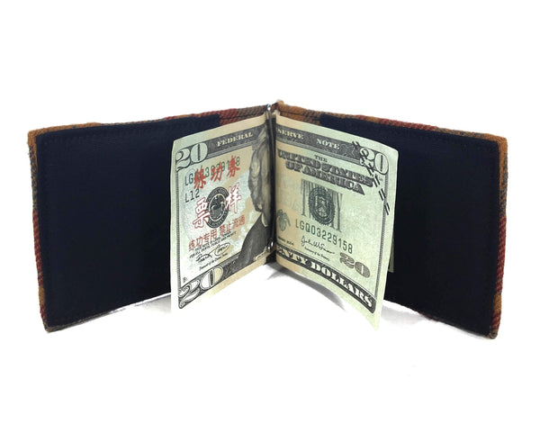 I like people Bifold money clip wallet