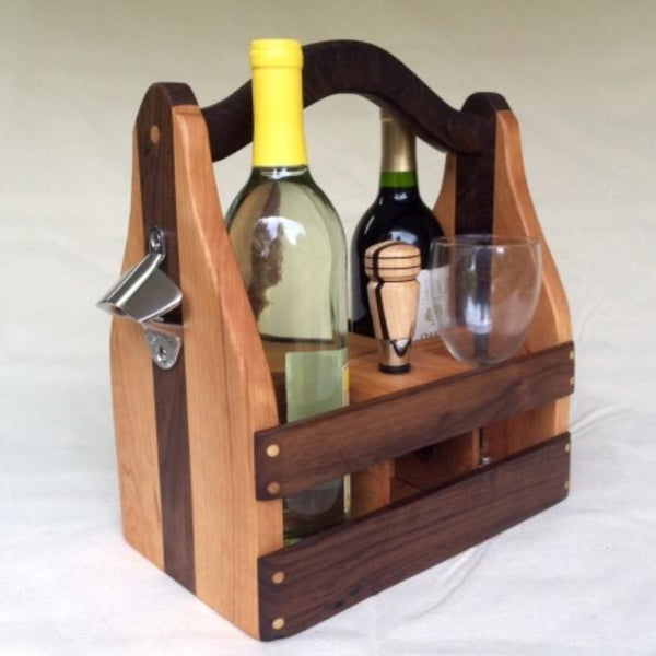 Wine & Beer Caddy Combo