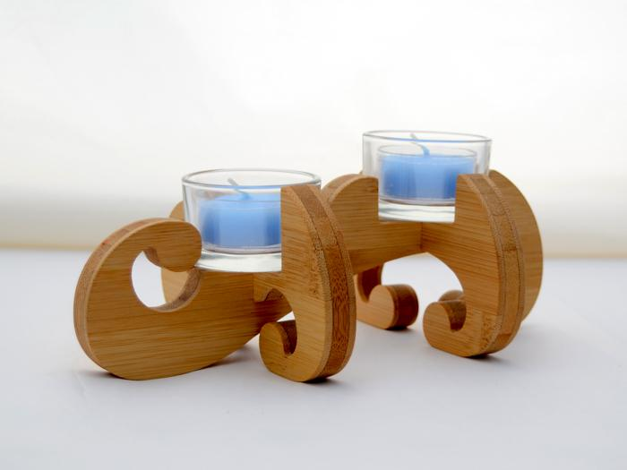 K.O.T. Double Tea Light Holder