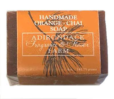 ADK Handmade Orange Chai Soap - 4oz bar