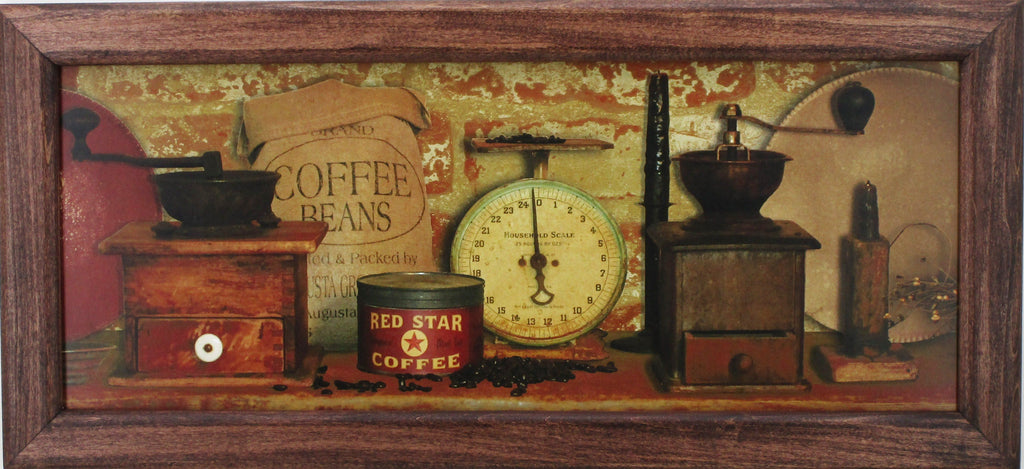 Framed Image- Country Coffee