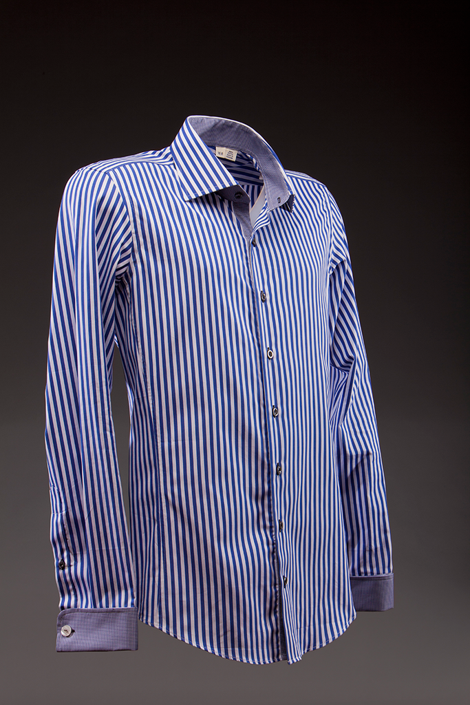 Borgata Blue Dress Shirt   - mujaestore