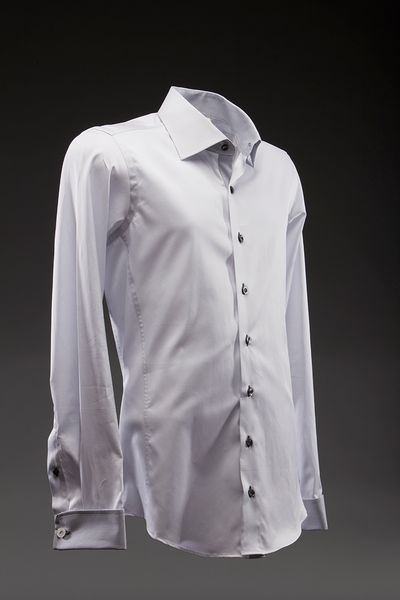 Capo Grey Dress Shirt  Shirts - mujaestore