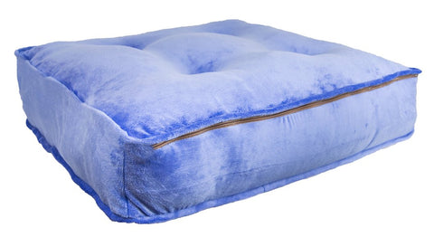Sicilian Rectangle Bed-Periwinkle