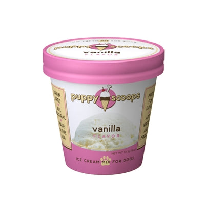 Puppy Scoops Ice Cream Mix - Vanilla