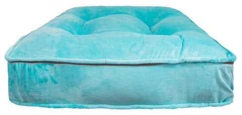 Sicilian Rectangle Dog Bed-Aqua Marine