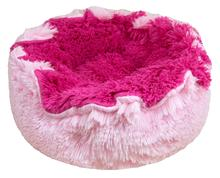 Lily Pod Dog Bed- Lollipop and Bubble Gum with Cotton Candy Patch