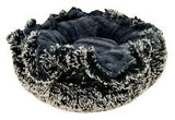 Lily Pod Dog Bed - Gravel Stone and Midnight Frost