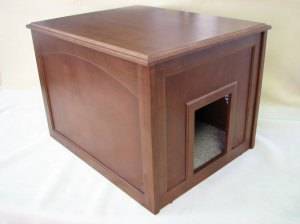 Doggie Den/Cat Litter Cabinet