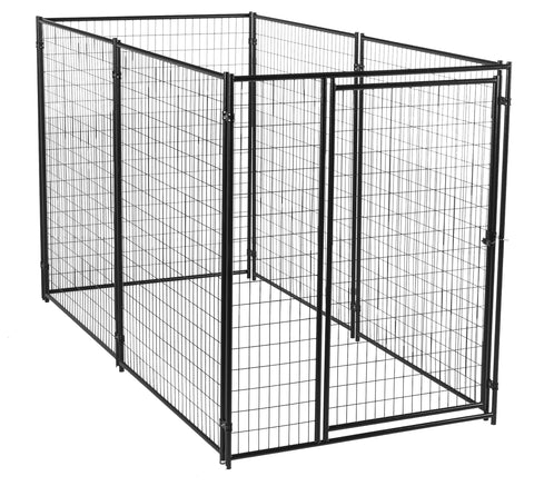 Lucky Dog™ Modular Box Kennel Welded Wire