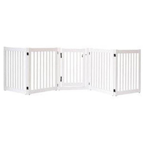 Highlander 5-Panel Walk-Through Pet Gate