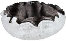 Cuddle Pod Dog Bed - Frosted Glacier and Snow White