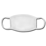 Personalized Face Mask - white/white