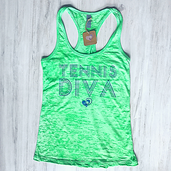 Tennis Diva Tank ***DISCONTINUED*** - 40 Luv Apparel