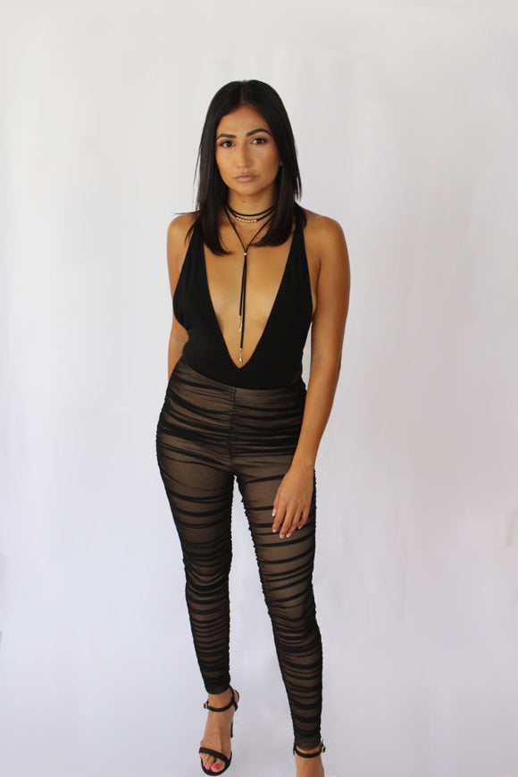 Sheer Mesh Leggings