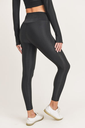Black Micro Leggings