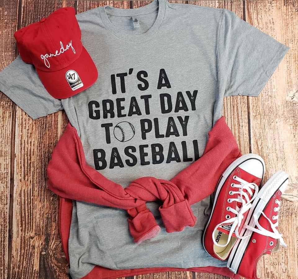 Great Day Baseball Tee