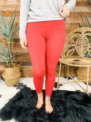 Raider Red Legging