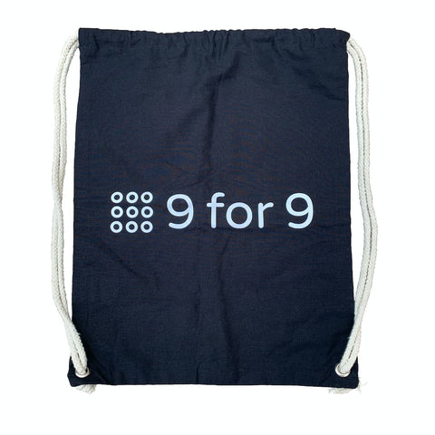9 for 9 Drawstring Bag - 9 for 9