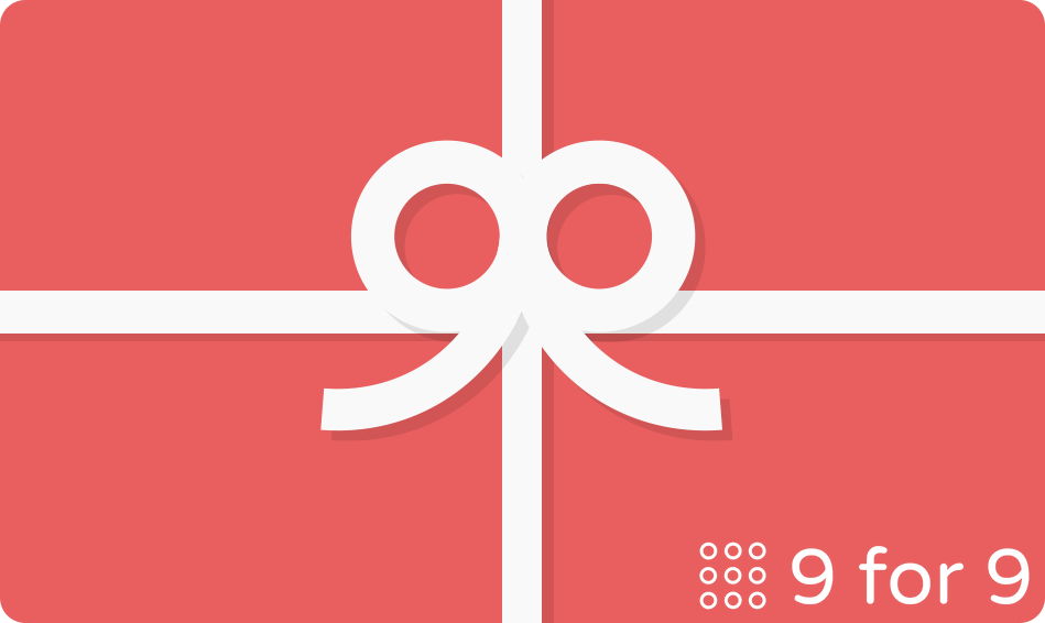 Gift Card - 9 for 9