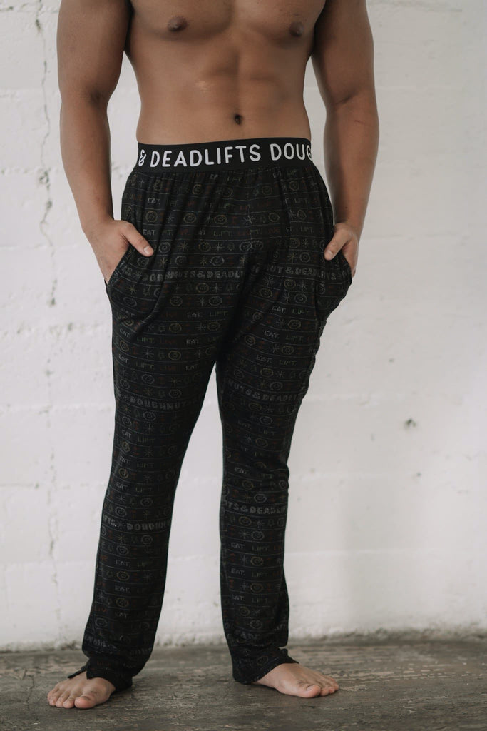 "Doughnuts & Deadlifts Loungies ""Not So Ugly Sweater"" (for him) - 9 for 9"