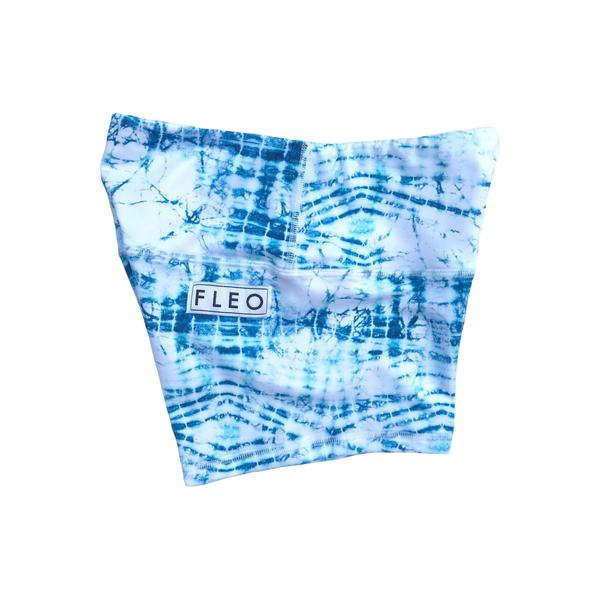 FLEO Blue Love Shorts (High-rise Original) - 9 for 9