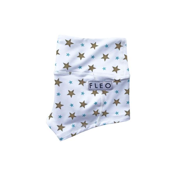 FLEO Blue Stars Shorts (Low-rise Contour) - 9 for 9