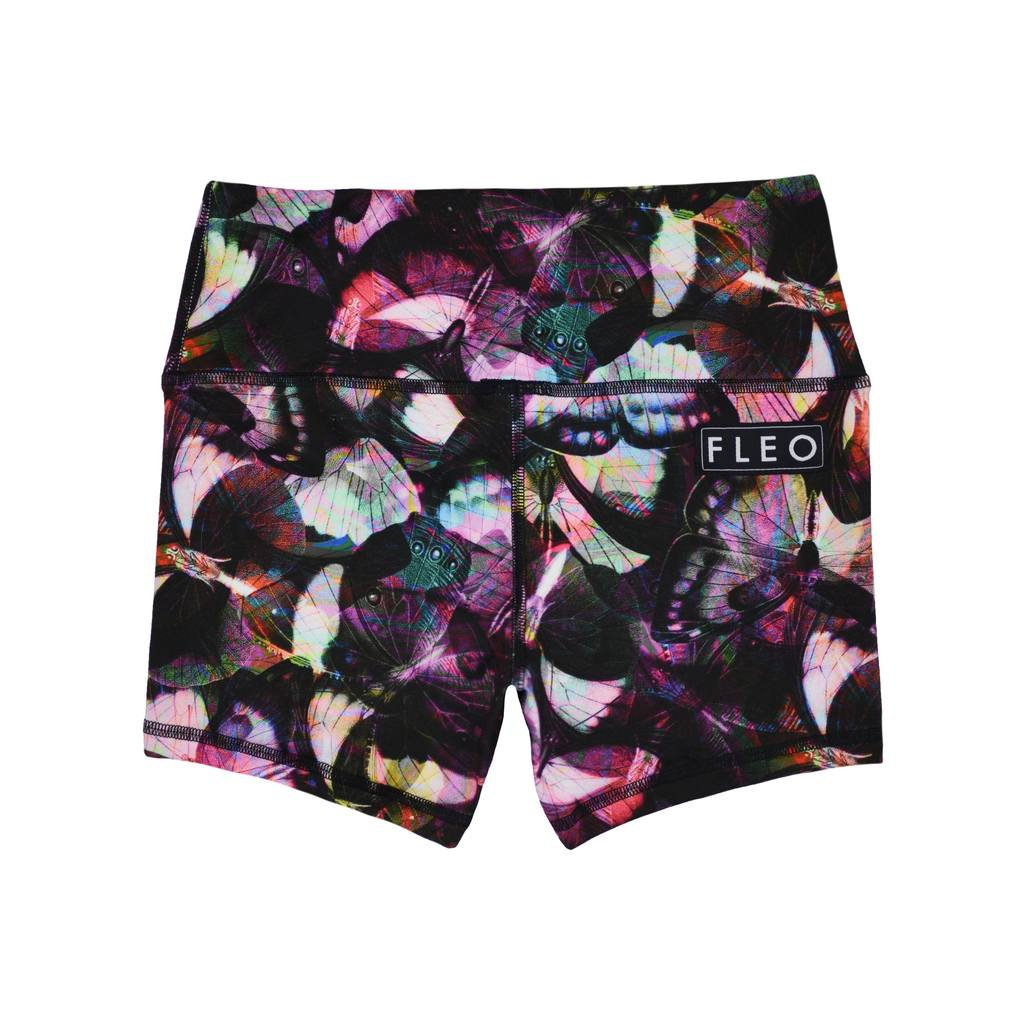 FLEO Butterfly Daydream Shorts (Power High-rise) - 9 for 9