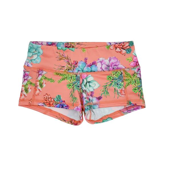 FLEO Coral Succulent Shorts (Low-rise Contour) - 9 for 9
