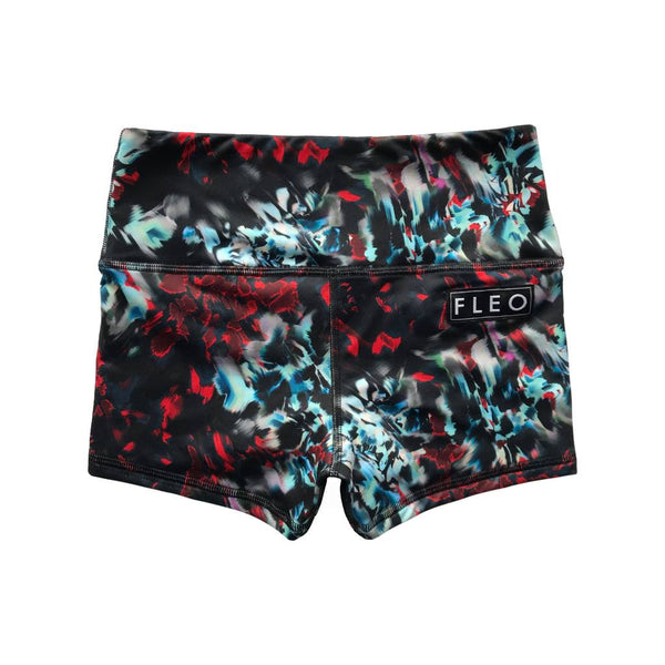 FLEO Cryptic Crimson Shorts (High-rise Original) - 9 for 9