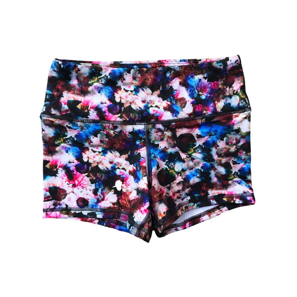 FLEO Dark Floral Shorts (Power High-rise) - 9 for 9