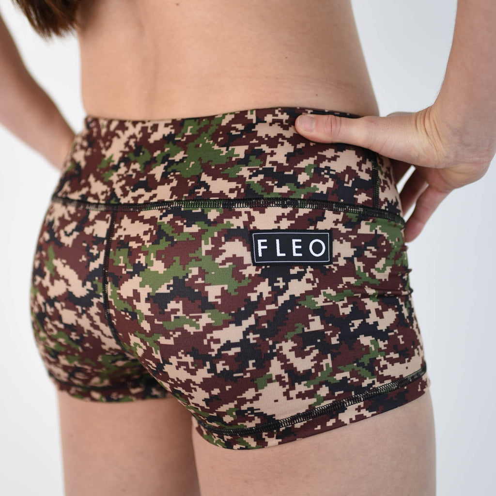 FLEO Digi Camo Shorts (Original) - 9 for 9