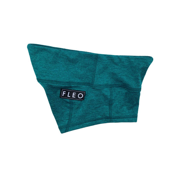 FLEO Heather Teal Shorts (Low-rise Contour) - 9 for 9