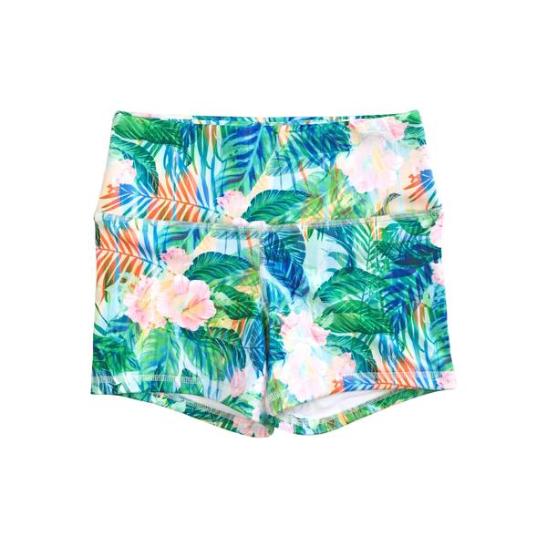 FLEO Hibiscus Shorts (Power High-rise) - 9 for 9