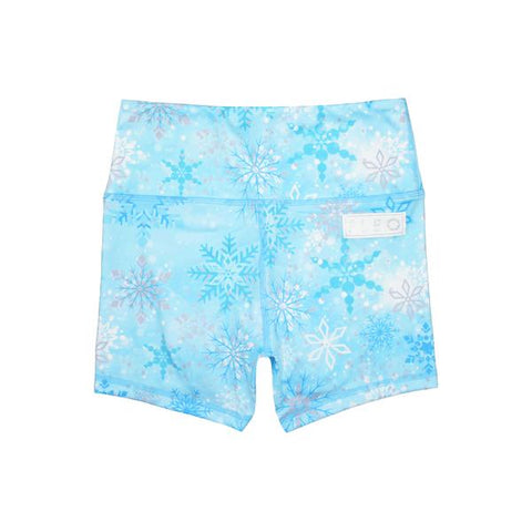 FLEO Icy Snowflake Shorts (Power High-rise) - 9 for 9