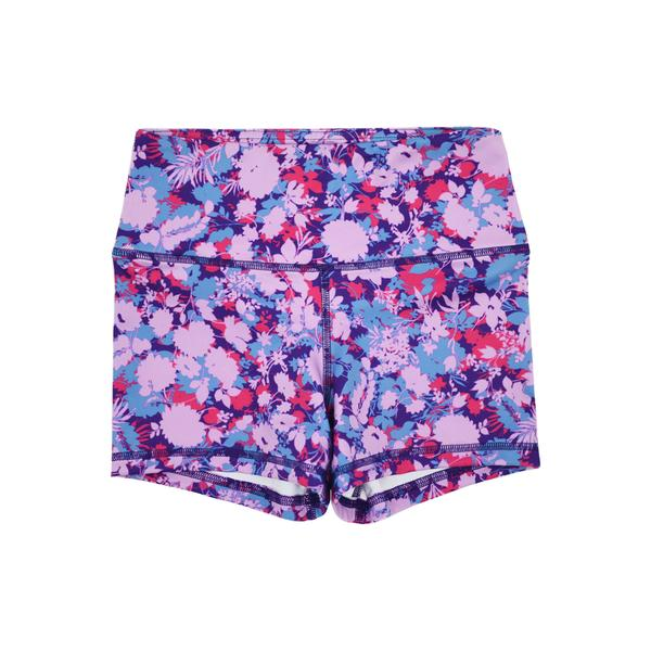 FLEO Orchid Bloom Shorts (Power High-rise) - 9 for 9