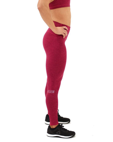 "FLEO El Toro 28"" Plum Cherry x Christmas Abbott Leggings (Bounce) - 9 for 9"