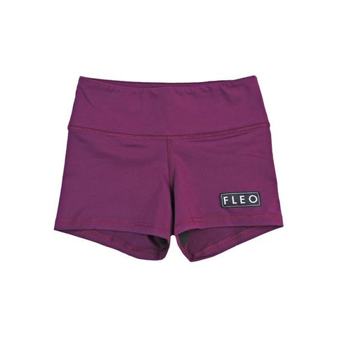FLEO Plum Shorts (3.25) - 9 for 9