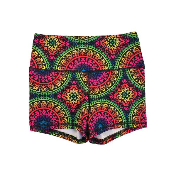 FLEO Psychedelic Shorts (Power High-rise) - 9 for 9
