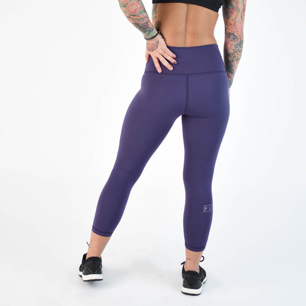 "FLEO El Toro 21"" Purple Velvet Leggings (Romey) - 9 for 9"