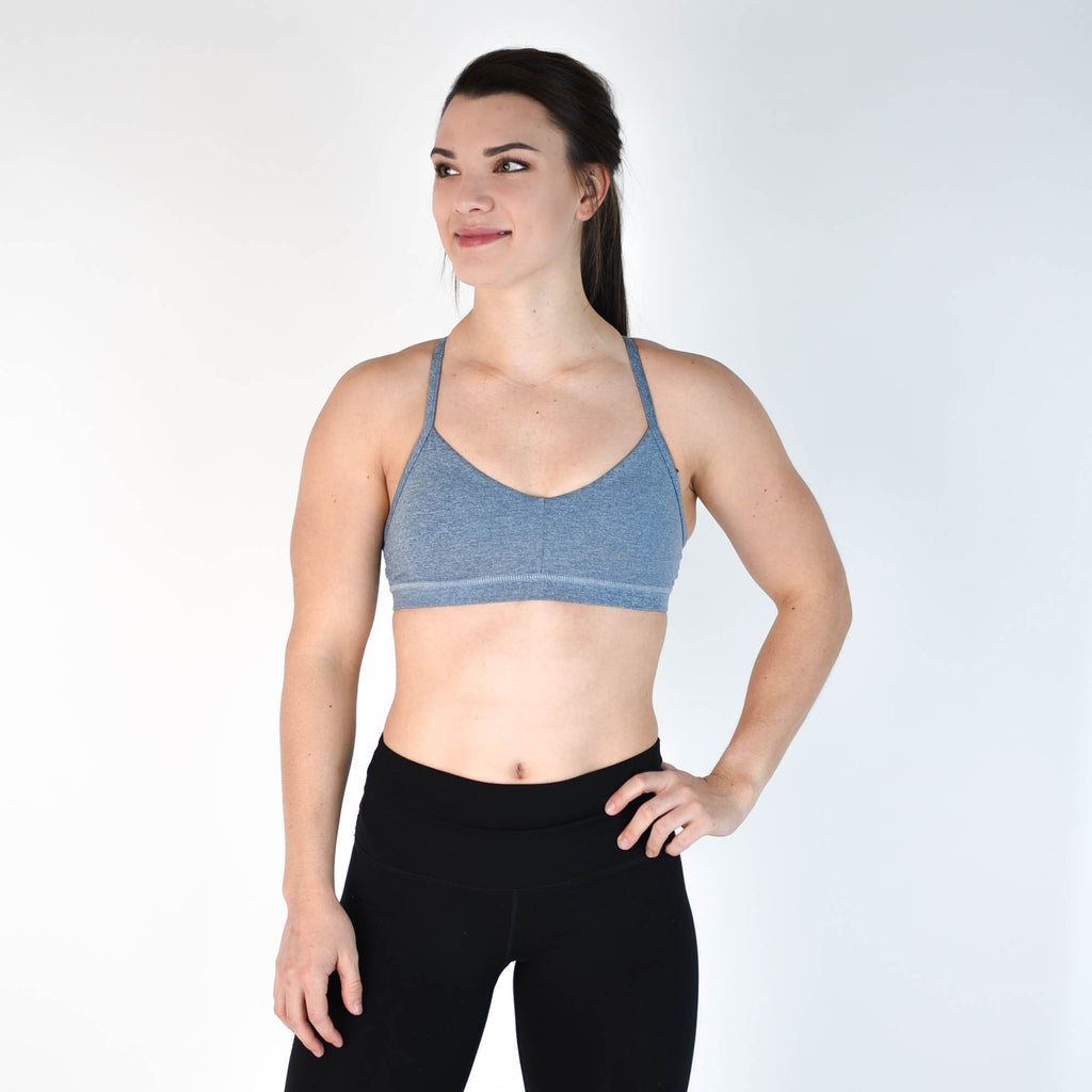 FLEO Reinette Sports Bra - Blue Fog - 9 for 9