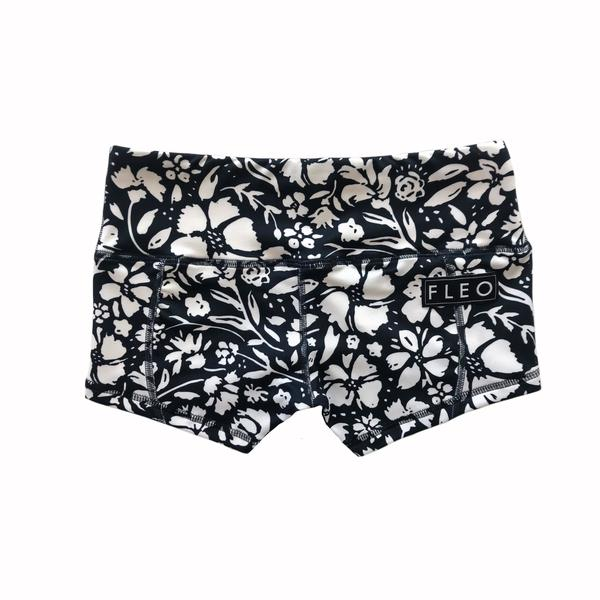 FLEO Retro Flower Shorts (Low-rise Contour) - 9 for 9