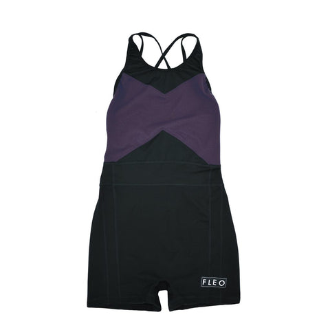 FLEO Singlet (Black / Purple Velvet) - 9 for 9