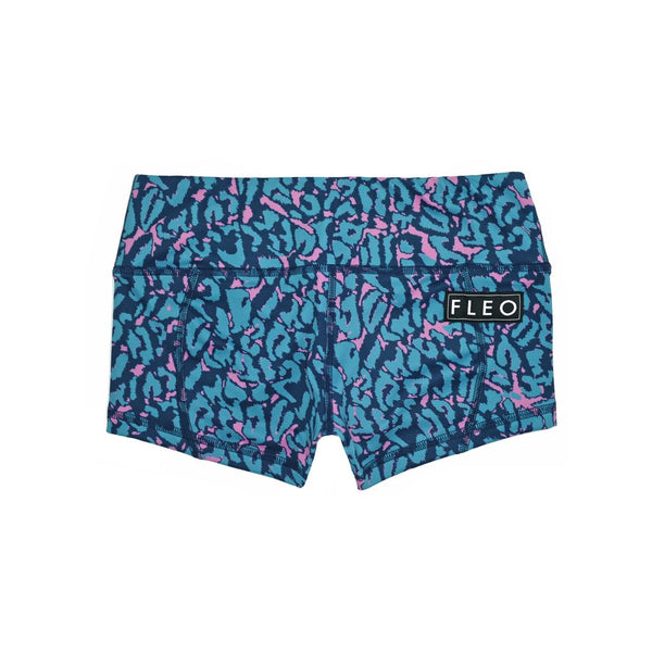 FLEO Teal Me Everything Shorts (Low-rise Contour) - 9 for 9