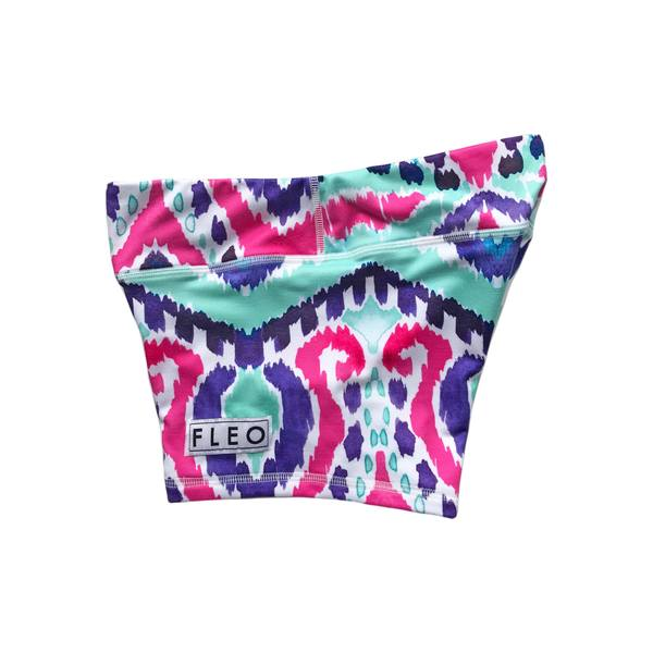 FLEO Turquoise Water Shorts (3.25) - 9 for 9